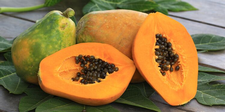 Mousse de papaye