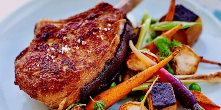 Viandes, poissons, légumes... C'est meilleur rôti !