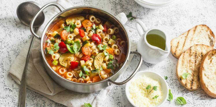 Soupe de quinoa aux légumes secs