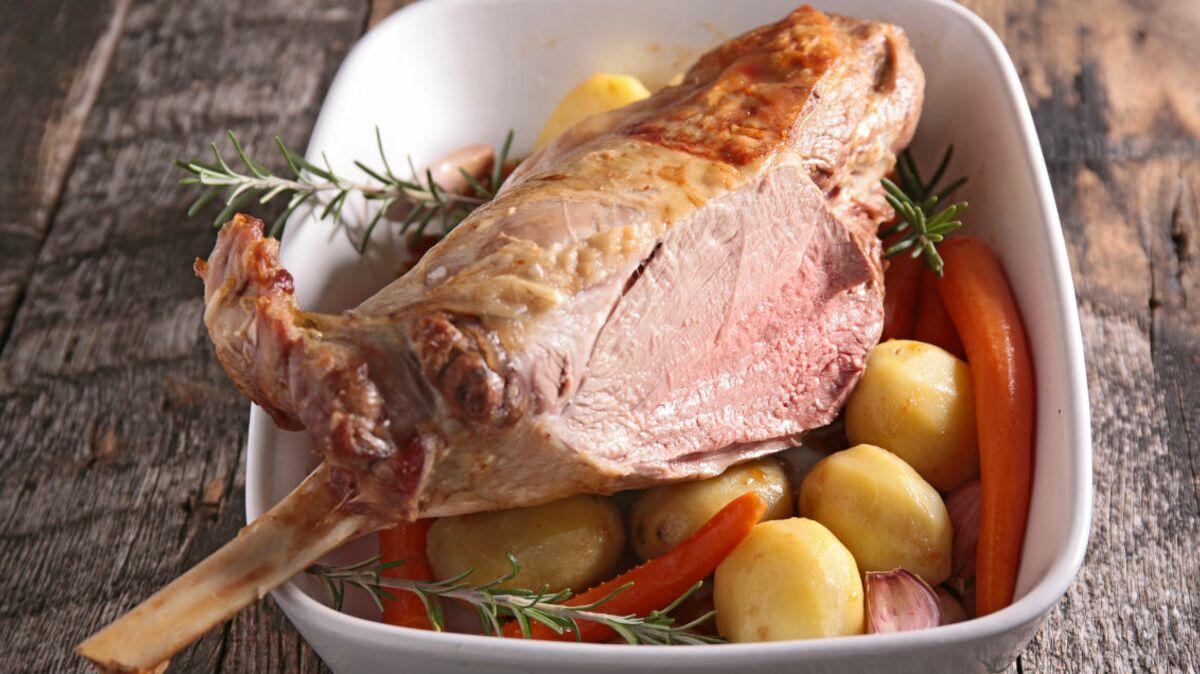 Gigot d'agneau fusion food