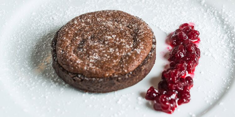 Tarte au chocolat de Christian Etchebest