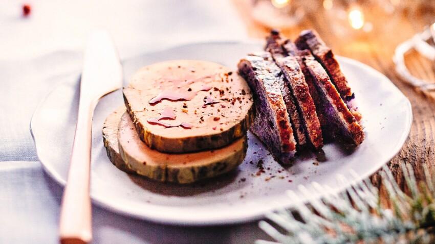 Terrine de foie gras au café et crème de whisky