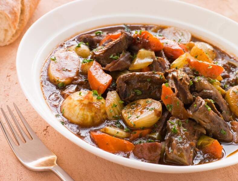 Queue de boeuf en daube