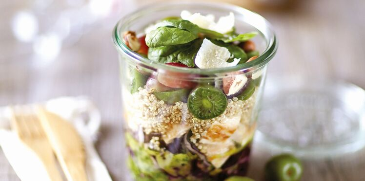 Salade tonus énergie aux mini-kiwis Nergi
