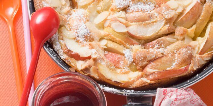 Gâteau de crêpes aux pommes