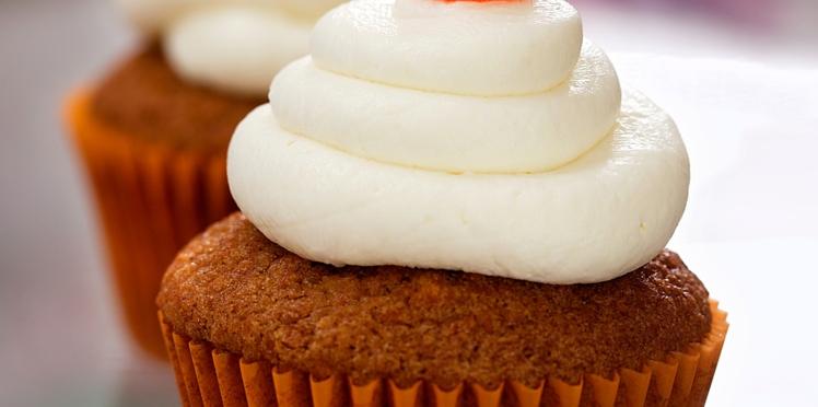 Cupcake à la carotte et aux épices (Aimable)