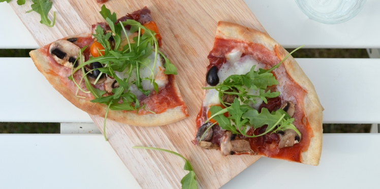 Pizza veggie napolitaine sans gluten