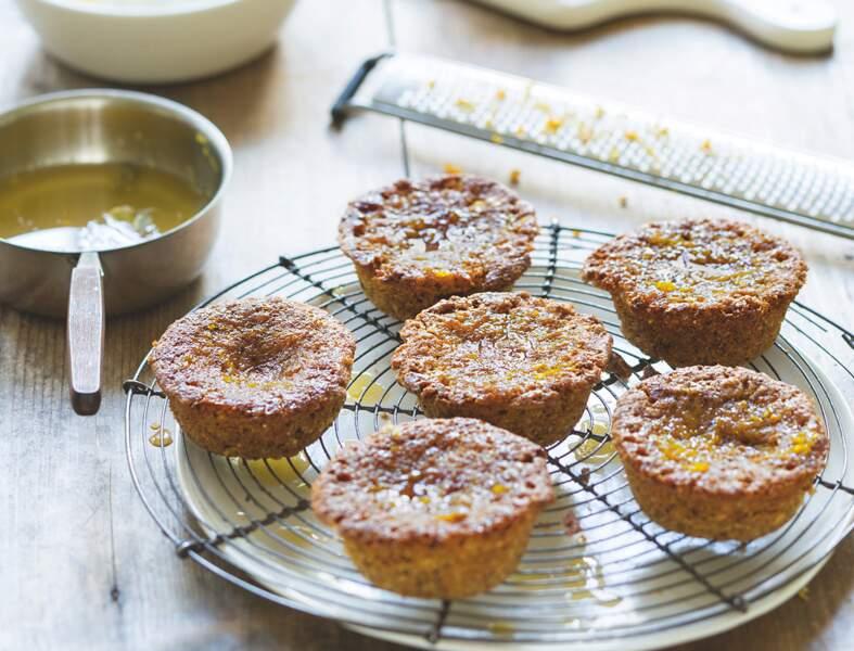 Petits gâteaux moelleux à la semoule de blé