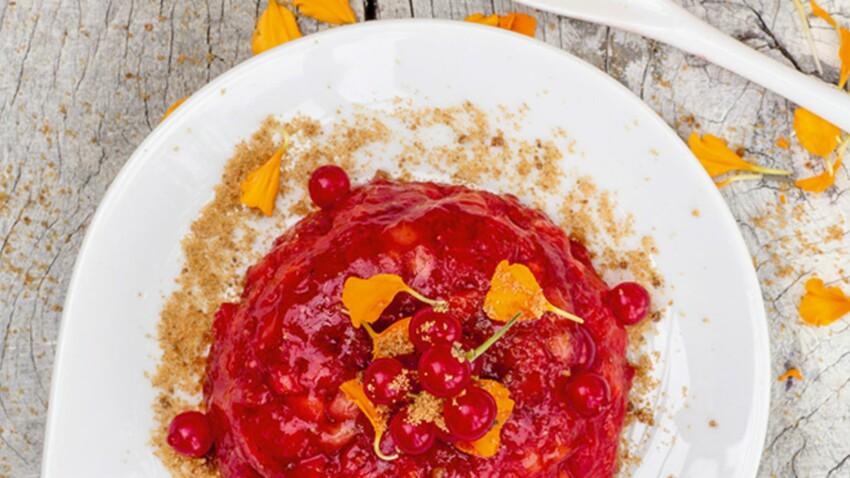 Brunoise de fraises