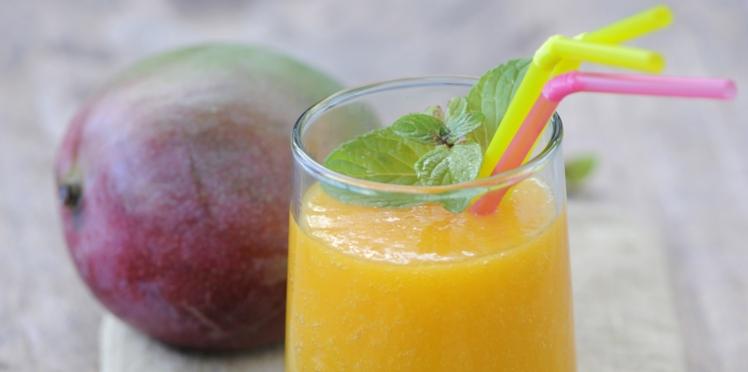 Smoothie aux fruits exotiques