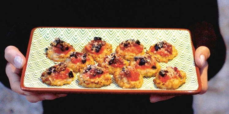 Galettes de chou-fleur à la tomate