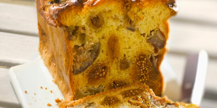 Cake aux figues sèches