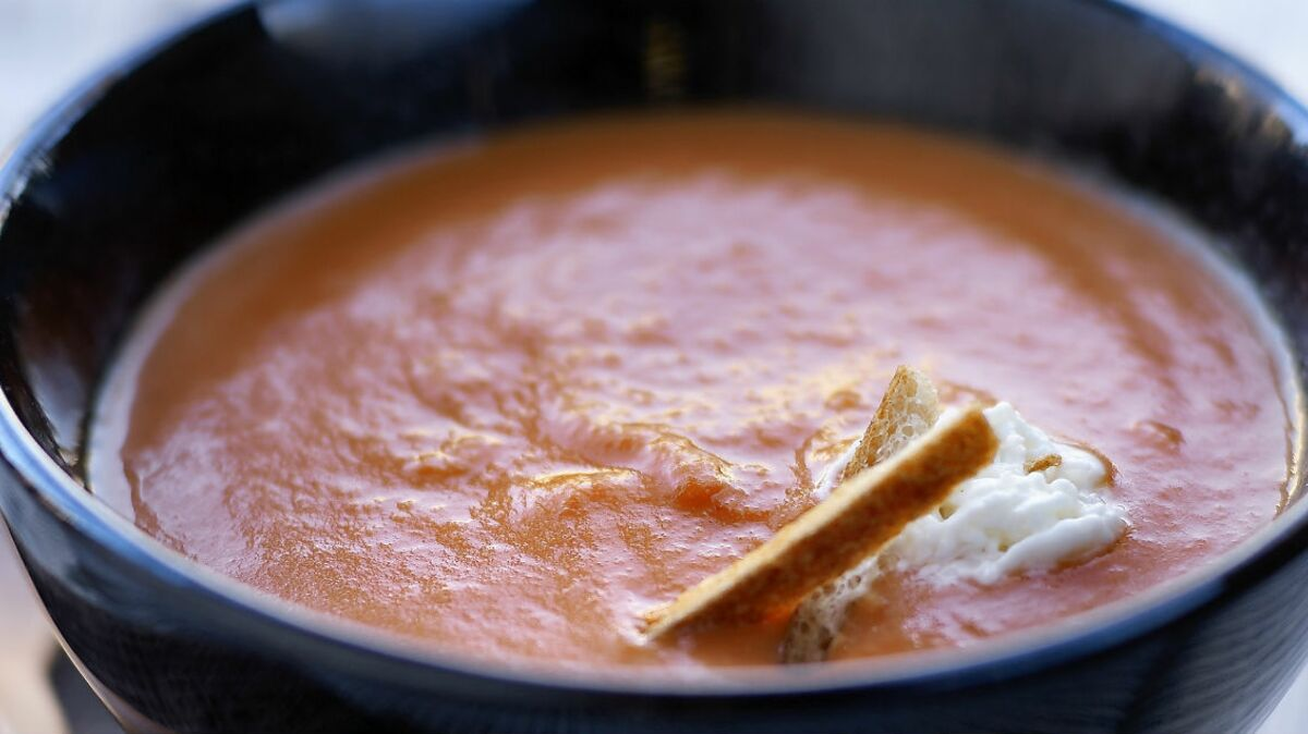 Soupe de carottes au riz légère