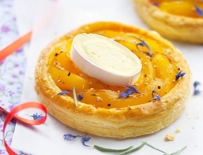 Feuilleté à l'abricot et au fromage En Cas de Caprice