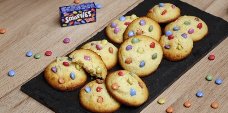 Cookies faciles aux smarties