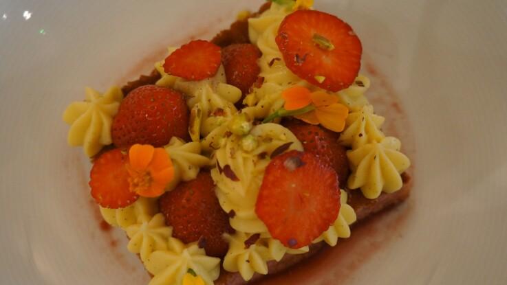 La recette du fraisier de Jonathan Blot