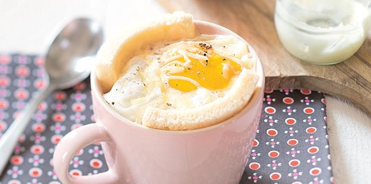 Mug-croque cake, pour madame