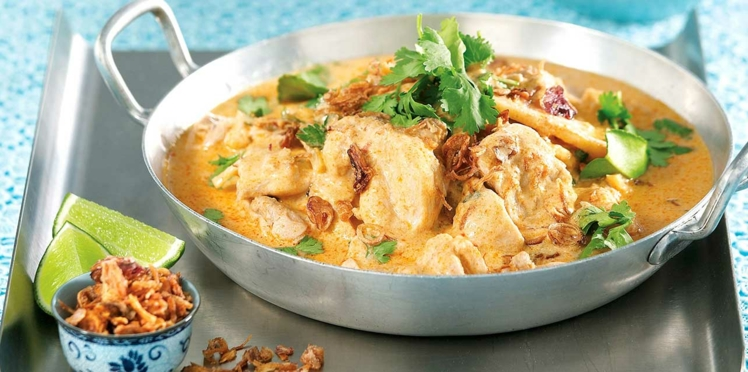 Curry rouge de poulet