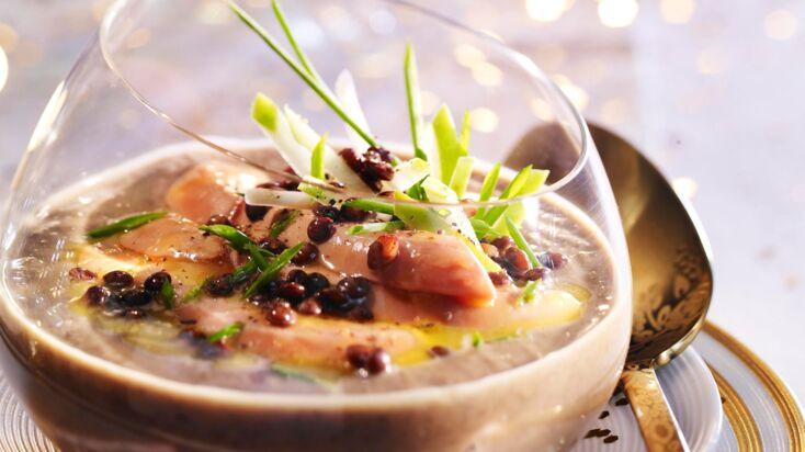 Super recettes de verrines de foie gras pour Noël