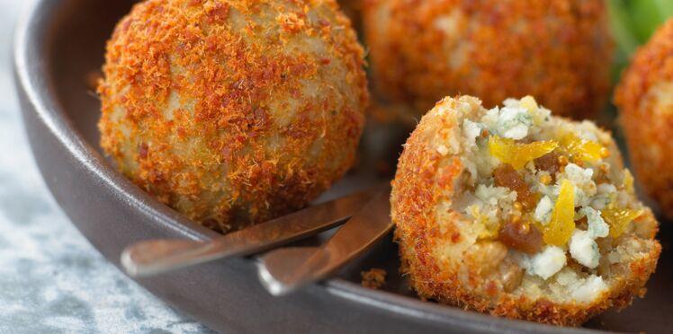 Boulettes de la mer ginger-coco