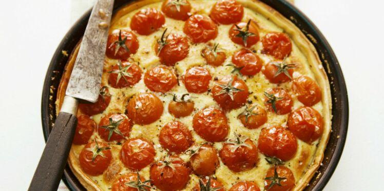Quiche à la tomate
