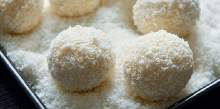 Boules de coco façon truffes brésiliennes