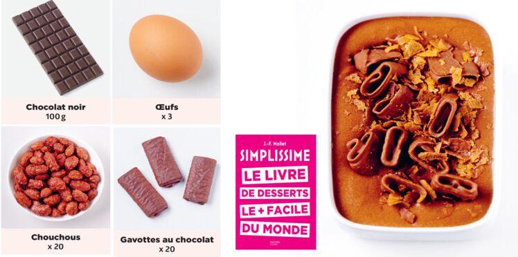 Mousse au chocolat craquante simplissime
