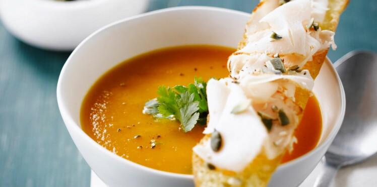 Soupes et tartines : les bons duos de la saison