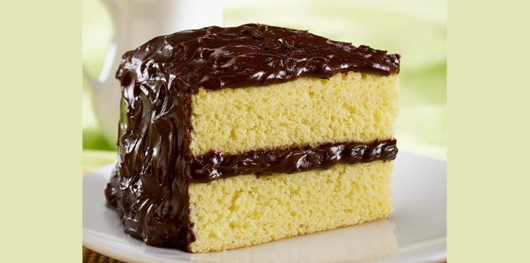 Gâteau fourré au chocolat