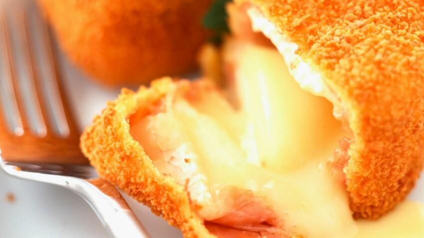 Camembert chaud pané