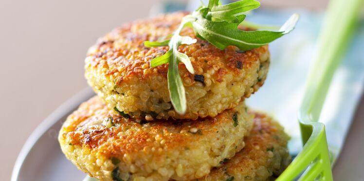 Galettes de quinoa au parmesan