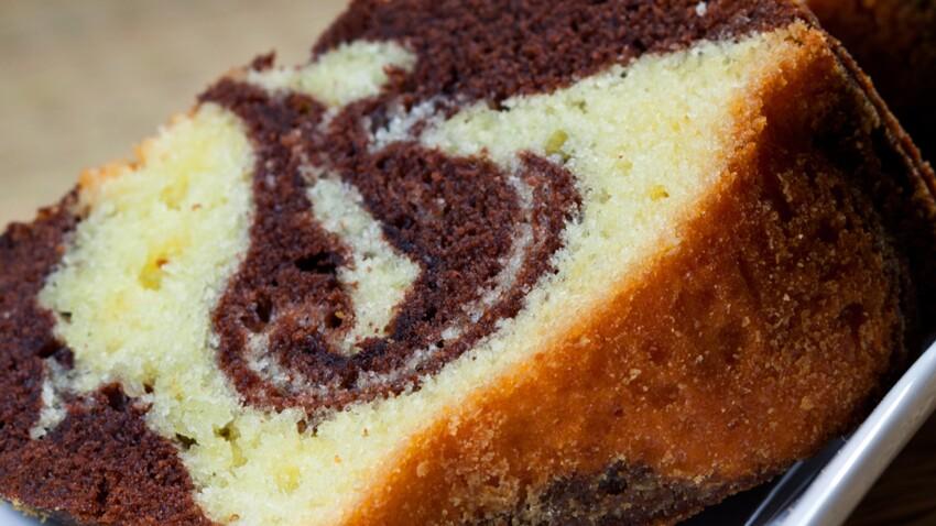 Petit gâteau ourson marbré