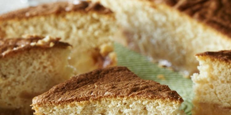 Gâteau normand au micro-ondes