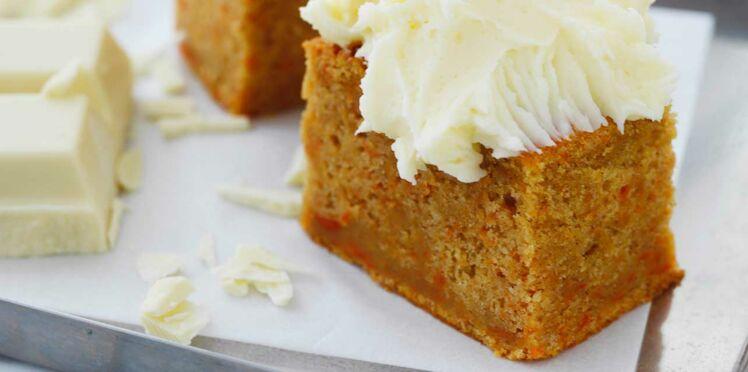 Carrot-cake au chocolat blanc