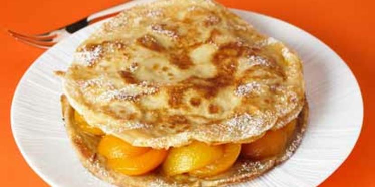 Variation de sarrasin et de blé au miel et abricots