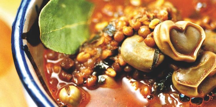 Soupe de fèves à la tunisienne
