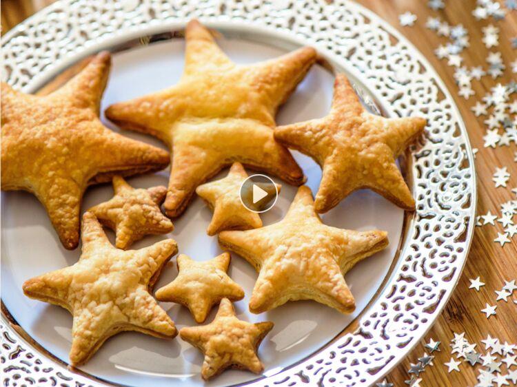 Apero Festif Avec Une Pate Feuilletee Pour Un Noel Facile Rapide