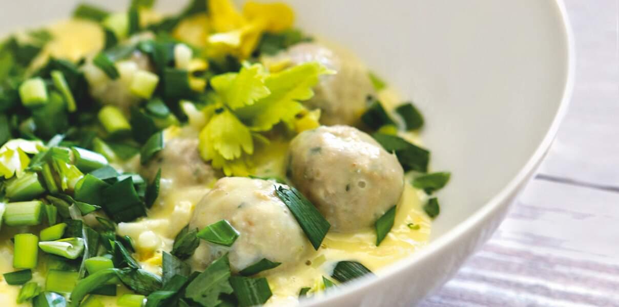 Soupe de boulettes au citron de Sonia Ezgulian