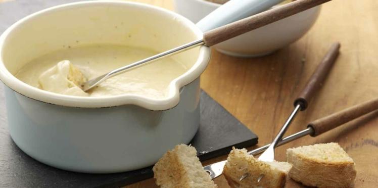 Fondue aux deux fromages