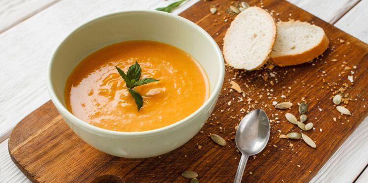 Soupe courgette et potiron