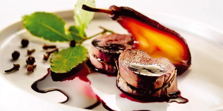 Chevreuil aux poires : la recette facile