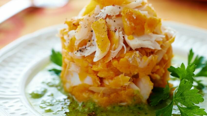 Brandade de haddock à la patate douce