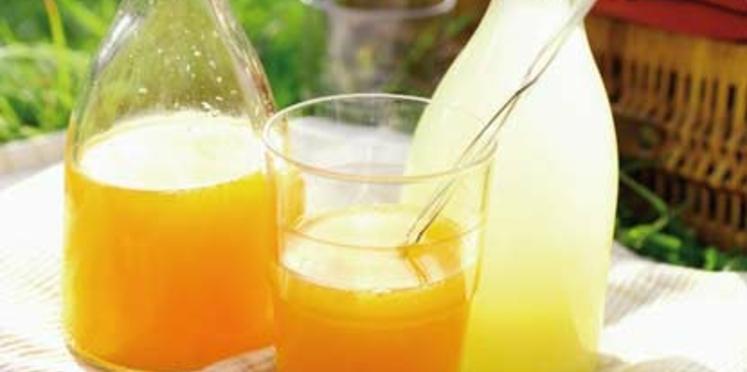 Orangeade et citronnade