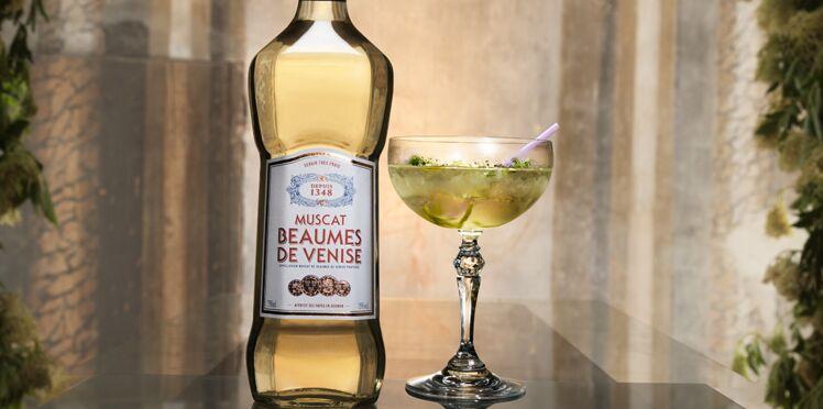 Origine, cocktail au muscat blanc