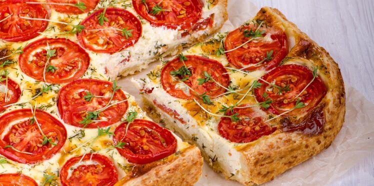 Tarte Tomates Chevre A L Origan Decouvrez Les Recettes De Cuisine