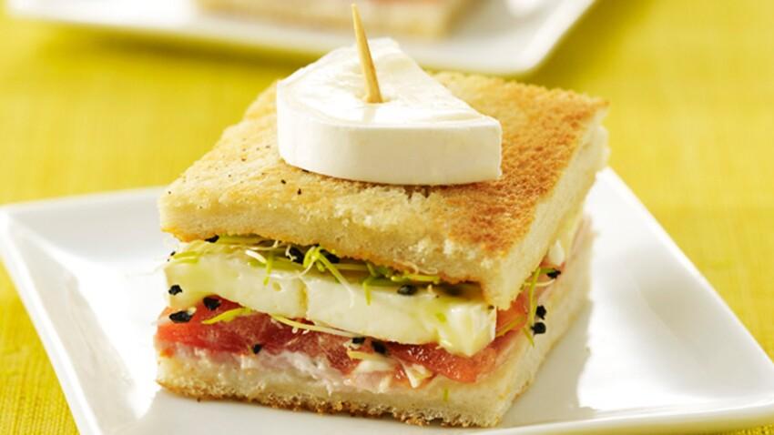 Mini-croque au fromage En Cas de Caprice