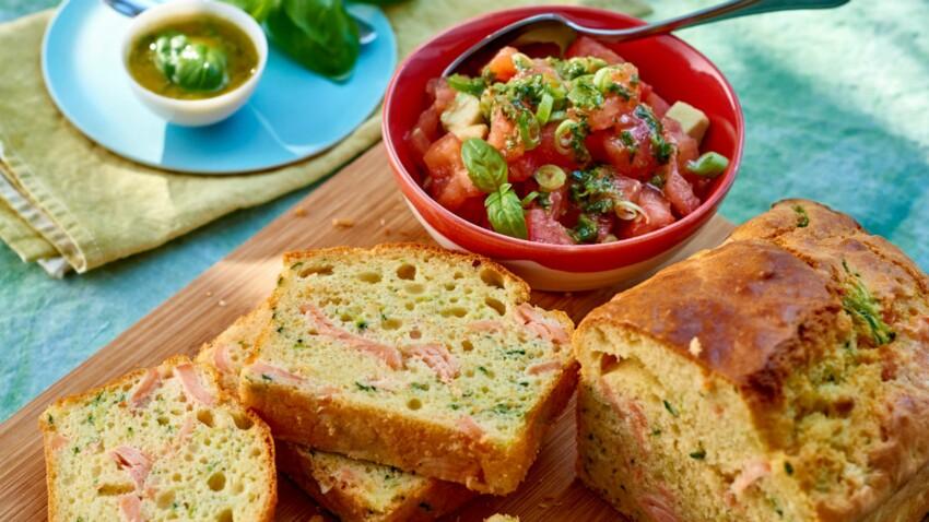 Salade et cake ou grillade : les bons duos gourmands !