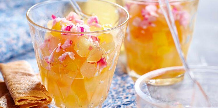 Tartare de fruits à la fleur d'oranger