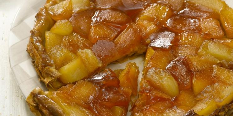 Crêpes tatin au sucre de canne