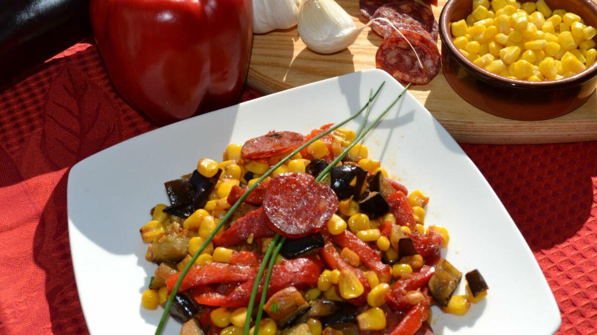 Maïs doux à l'espagnole